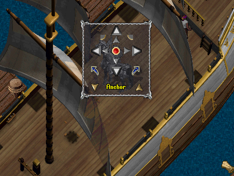 Using Mystical sextant on a ship