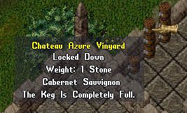 Winecrafting skill in UO